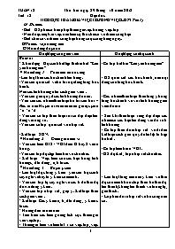 Giáo án Đạo đức Lớp 3 - Tuần 12: Tích cực tha